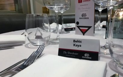 WL WAS IN  SOCCEREX VIP DINNER